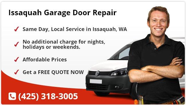 Issaquah Garage Door Repair